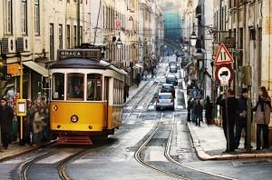Tranvia-en-Lisboa
