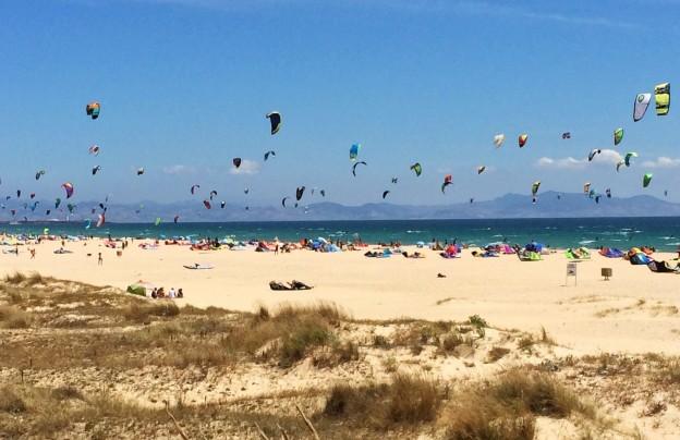 playas kitesurf espana
