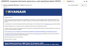 aviso-ryanair-maletas-aeropuerto-madrid