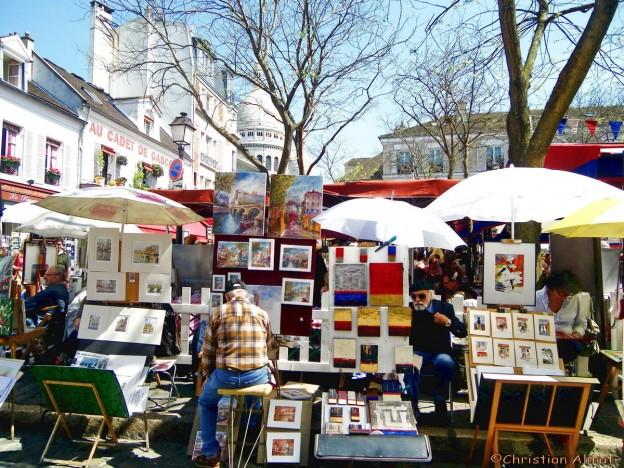 Place-du-Tertre-París